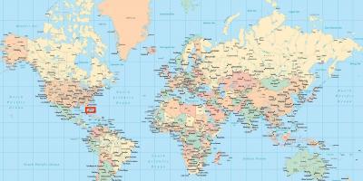 miami carte du monde Miami la carte   Cartes de Miami (Floride   USA)